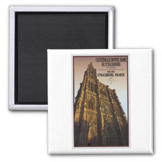 Strasbourg - cathédrale Notre Dame Aimant