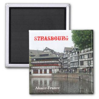 Strassbourg Magnet Carré