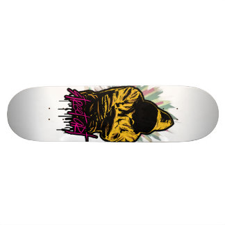 Street art plateaux de skateboards
