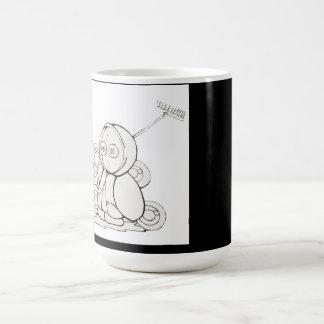 Street art mug blanc
