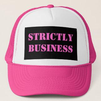 Strictement casquette d'affaires