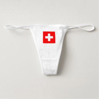 """String Culottes """"suisses"""" de conception de drapeau pour"""