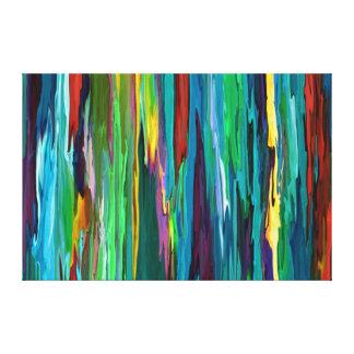 Stripesa - toile enveloppée 36x24