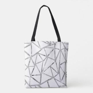 Structure des triangles avec un collage des sac