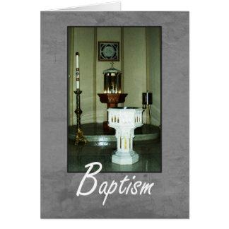 Sts. Peter et paroisse de Paul - carte de baptême