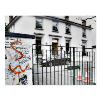 Studio célèbre de route d'abbaye carte postale