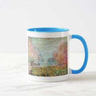 Studio de bateau de Claude Monet   sur la Seine Mug