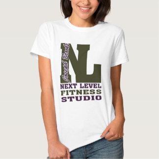 Studio de niveau 2 de forme physique de ruisseaux t-shirts