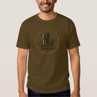 Studio de niveau 3 de forme physique de ruisseaux t-shirts