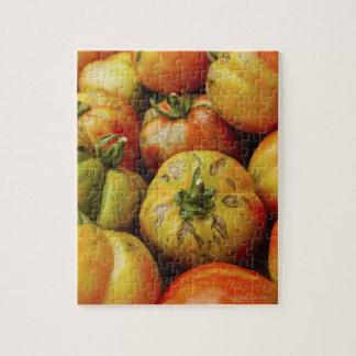 Studio tiré des tomates d'héritage puzzle