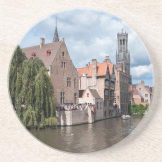 Stupéfaction ! Bruges - la Belgique Dessous De Verres