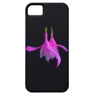 Stupéfaction dans la conception florale rose étuis iPhone 5