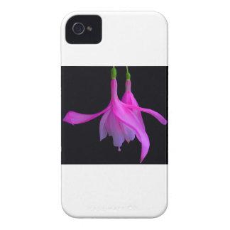 Stupéfaction dans la conception florale rose étui iPhone 4
