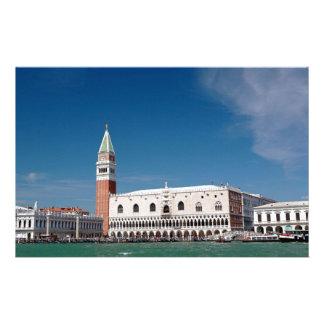 Stupéfaction ! Venise carrée de St Mark Motifs Pour Papier À Lettre