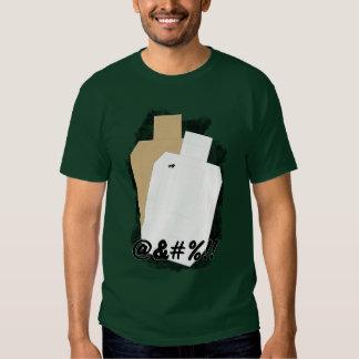 Stupide aucunes pousses (avant) t-shirt