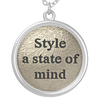 Style a state ou mind - le collier