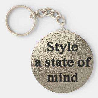 Style a state ou mind - le porte-clés