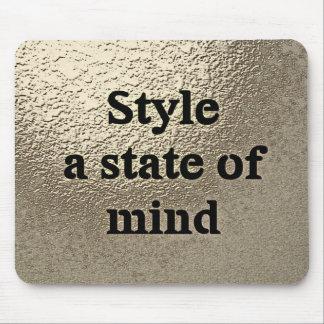 Style a state ou mind - le tapis de souris