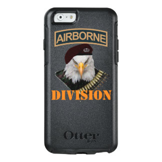 Style audacieux d'aigle d'unités aéroportées coque OtterBox iPhone 6/6s