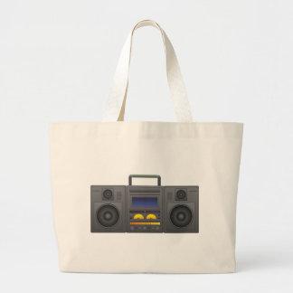 style Boombox de hip hop des années 1980 Grand Sac