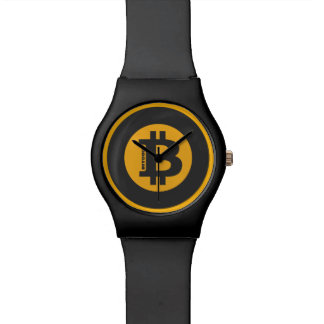 Style classique 2 de logo de Bitcoin Montre