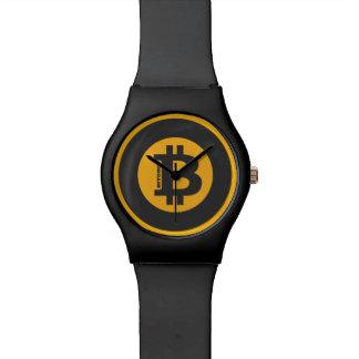 Style classique 2 de logo de Bitcoin Montres Cadran