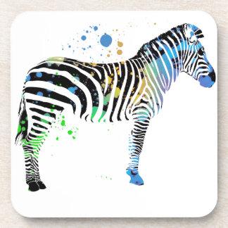 Style coloré multi magique de peinture de jet de dessous-de-verre