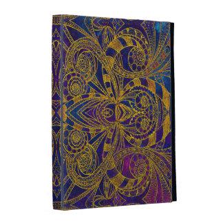 Style d Indien de folio d iPad de Caseable Coque iPad
