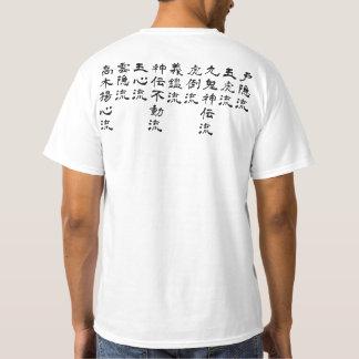 Style de Bujinkan Ryuuha T-shirt