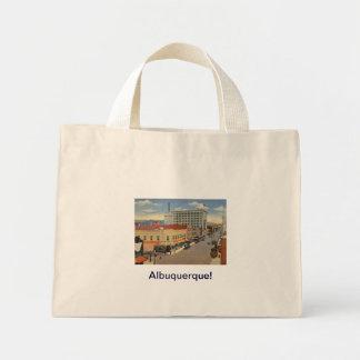 Style de cru d'Albuquerque, Nouveau Mexique Mini Tote Bag