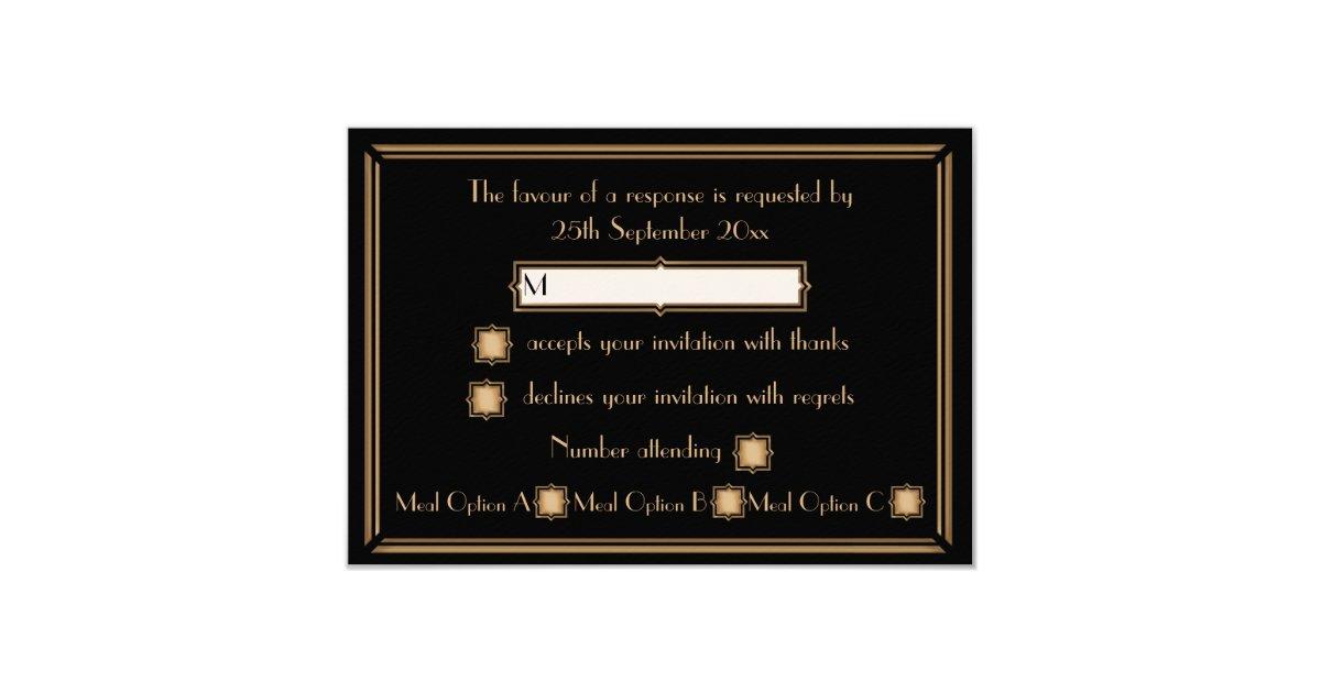style de gatsby d 39 art d co pousant des cartes de carton d 39 invitation 8 89 cm x 12 70 cm zazzle. Black Bedroom Furniture Sets. Home Design Ideas
