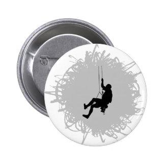 Style de griffonnage d'alpinisme badges