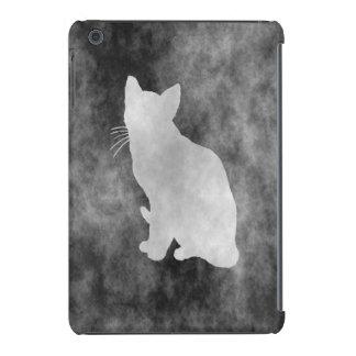 Style de grunge de chat coque iPad mini retina