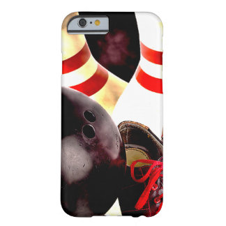 Style de grunge de vitesse de bowling coque barely there iPhone 6