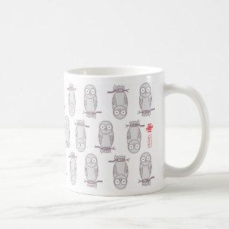 Style de hibou mug