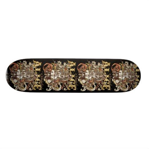 Style de la Reine Alice Carnivale (version d'or) Skateboards Personnalisés