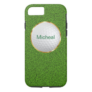 Style de monogramme de golf coque iPhone 8/7