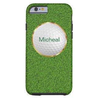 Style de monogramme de golf coque tough iPhone 6
