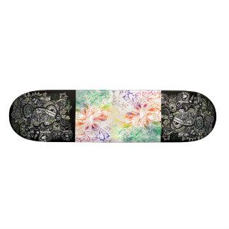 style de panneau de scate d'art plateaux de planche à roulettes