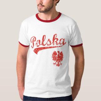 Style de sport de Polska Eagle T-shirts