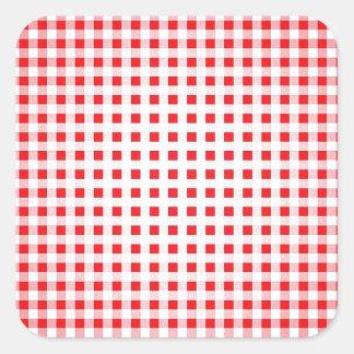 Style de tendance de conception moderne de sticker carré