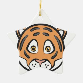 Style de tigre ornement étoile en céramique