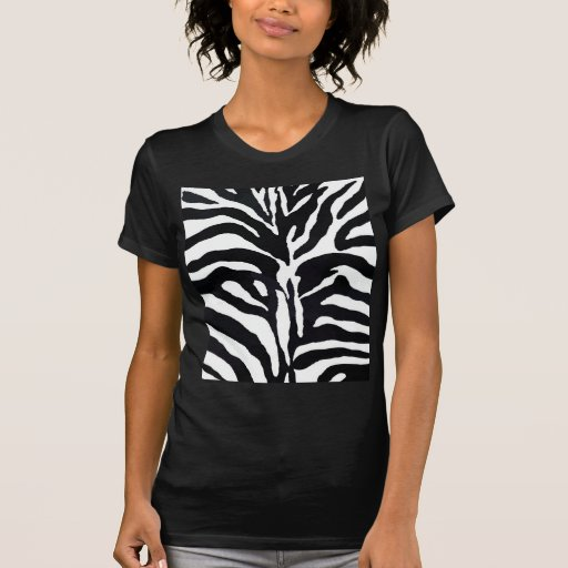 Style de zèbre t-shirts