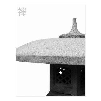 Style de zen carte postale