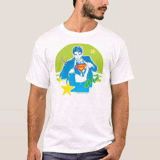 Style des années 80 de Superman T-shirt