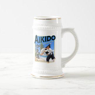 Style des Caraïbes Stein d'Aikido Chope À Bière