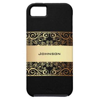 Style d'or customisé   de luxe et d'affaires coques Case-Mate iPhone 5