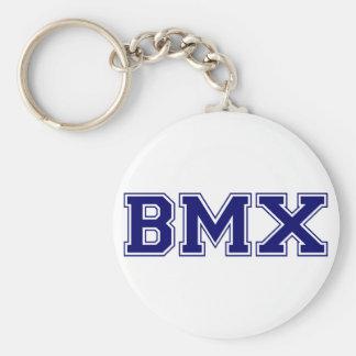 Style d'université de BMX Porte-clé Rond