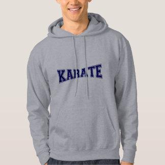 Style d'université de karaté veste à capuche