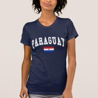 Style d'université du Paraguay T-shirt